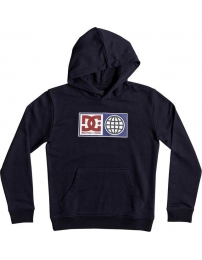 Dc sweatshirt c/capuz global salute jr